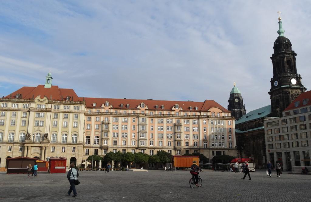 Altmarkt, Rathausturm, Kreuzkirche