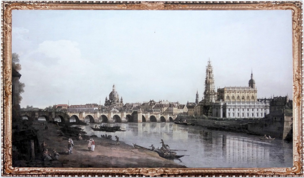 Dresden 1748, Canaletto