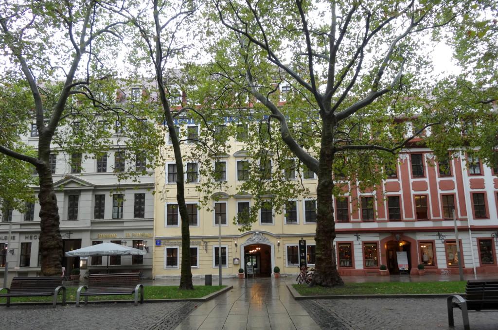 Barockviertel an der Hauptstraße