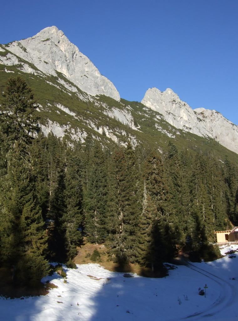 Hoher Sattel, 1500m