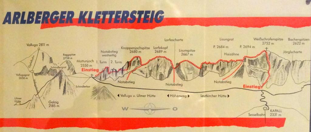 Arlberger KS, 2800m, 5h
