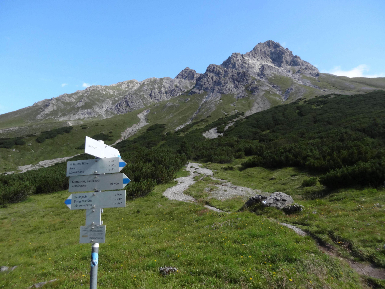 Klettersteig Saulakopf : Im rätikon zurück ins tal vorbei an saulakopf und zimba